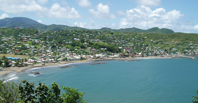 dennery village st lucia